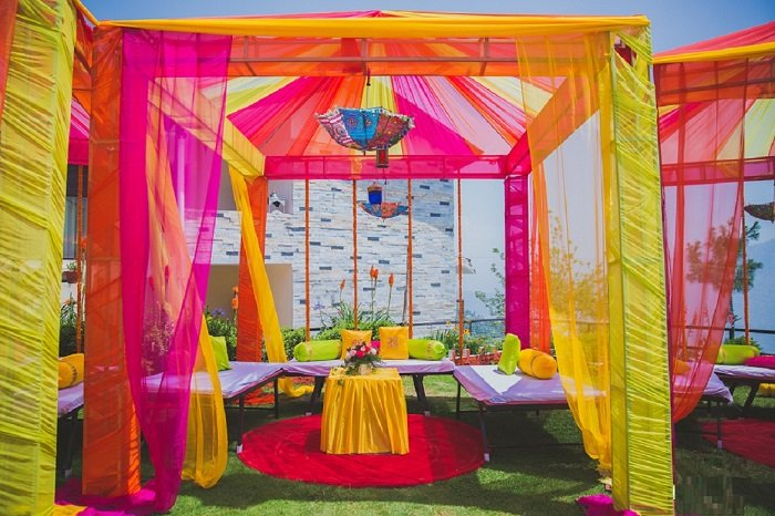 decor for haldi ceremony