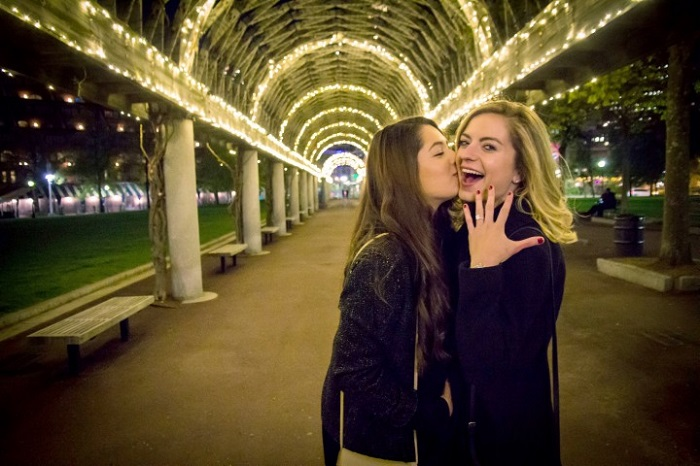 proposal where you meet first time