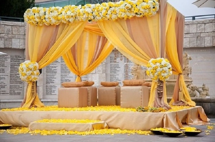 decor for haldi function