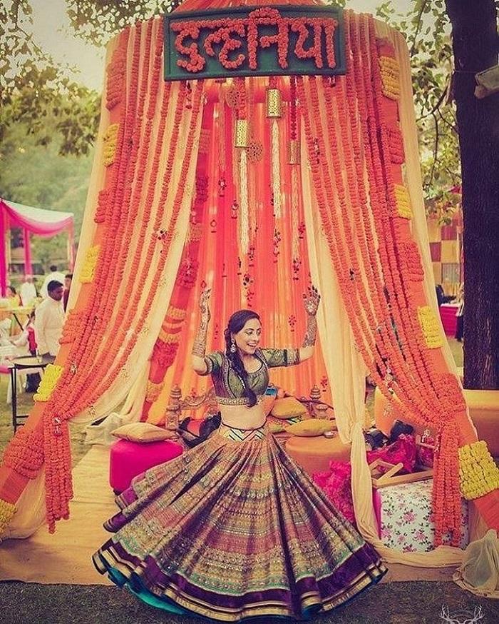 mehndi ceremony decor ideas