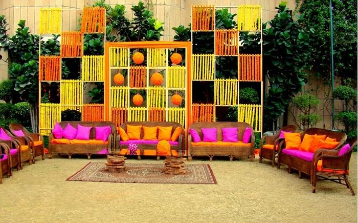 wedding mehandi decoration ideas