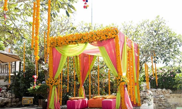 indian wedding mehndi decoration ideas