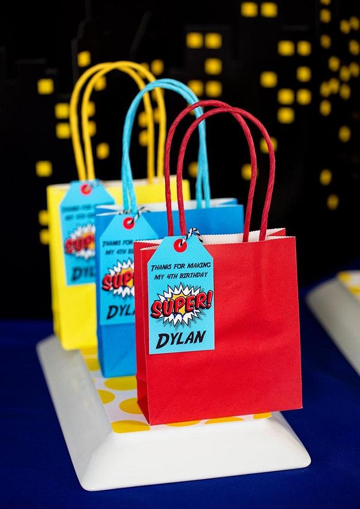 paper bags for mehndi favor