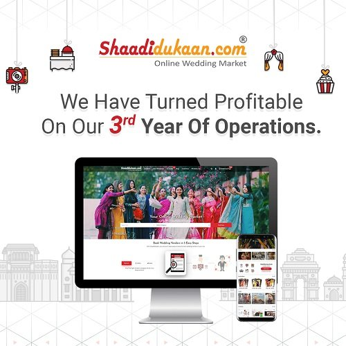 Our Jaipur Based Bootstrapped Company, Shaadidukaan Has...