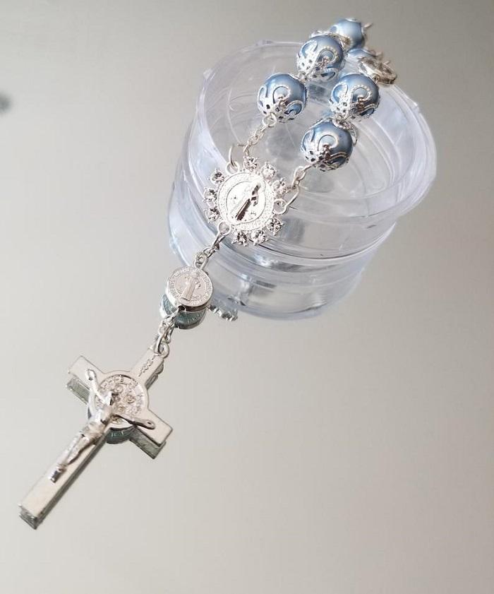 rosary bracelet for mehndi favors