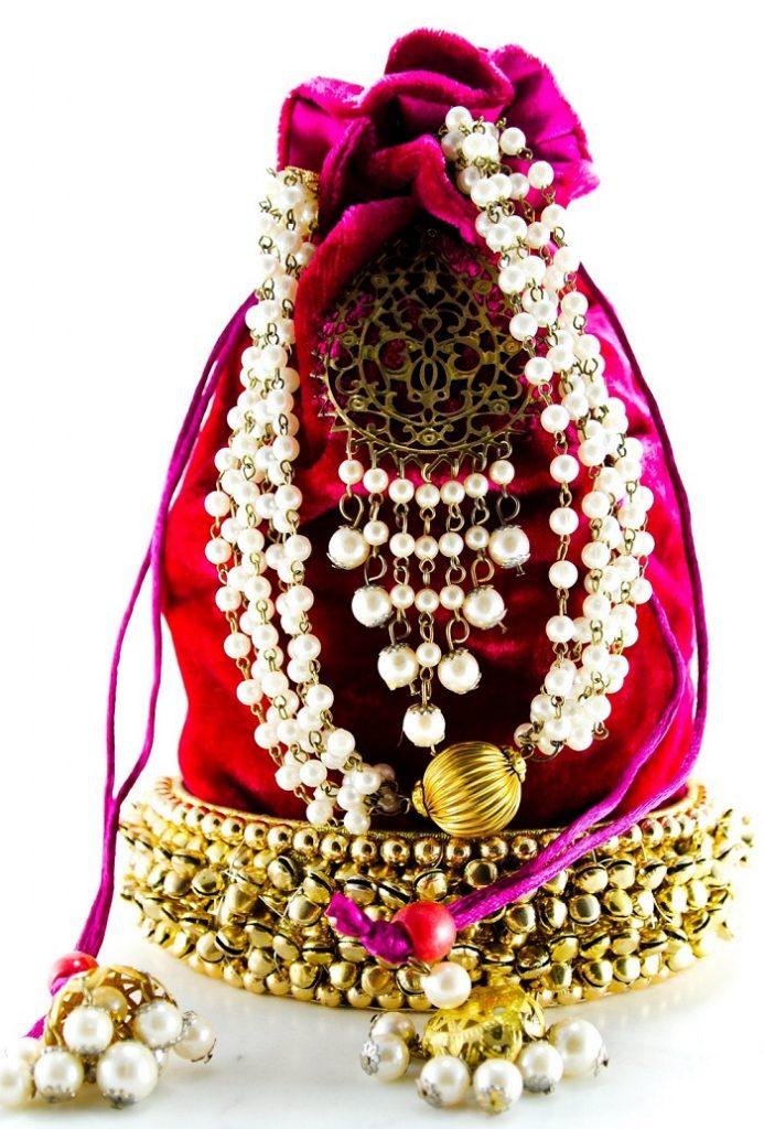 Potli Purses Designs for Indian weddings