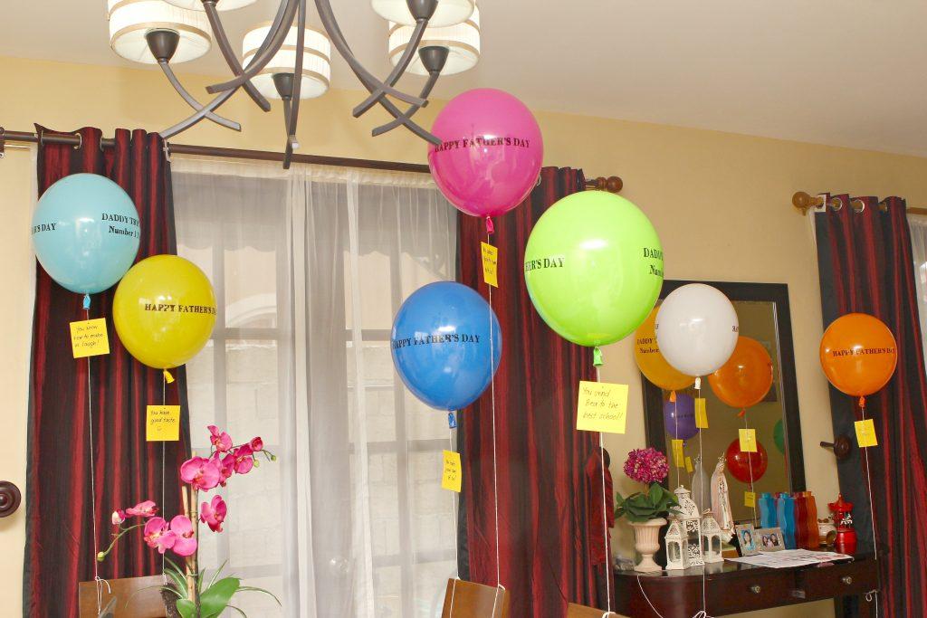 Surprise party for him