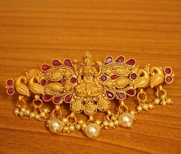 temple jewelry designs for bride