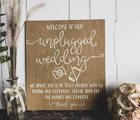 Unplugged Weddings - What You Need to Know & Why You Should Have One