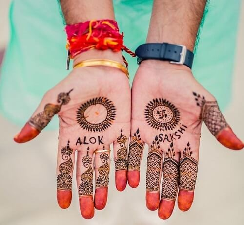 Fuss Free Mehndi Designs for Groom to Surprise Their Better Half