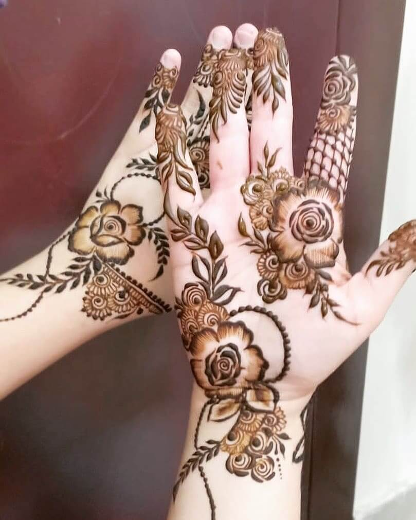Best 91 Beautiful Front and Back Hand Mehndi Designs For