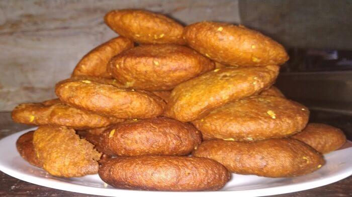 Babroo sweet dish