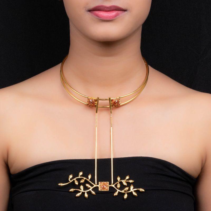 Bihari Hansli Jewelry Bride
