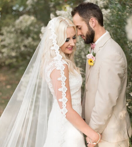 Top #9 Elegant Christian Bridal Veil Designs For The Special Day!