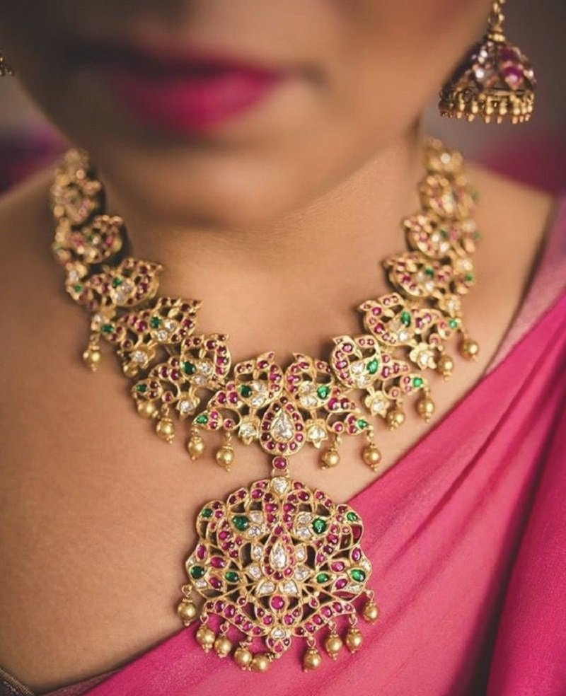 Colorful Heavy Pendant Necklace