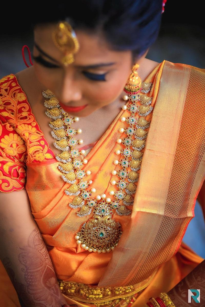 Etnic Haaram Jewelry From Karnataka