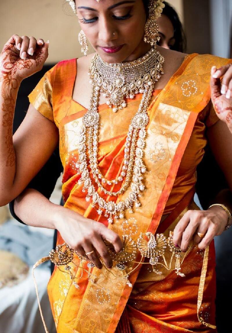 Gold And Diamond Kamar Bandh