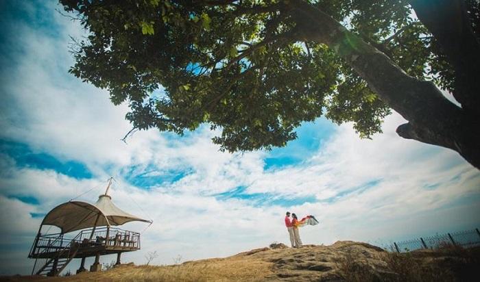 Nandi-hills pre wedding photoshoot