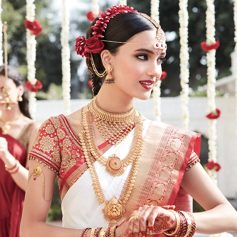 Net Choker Necklace From South India