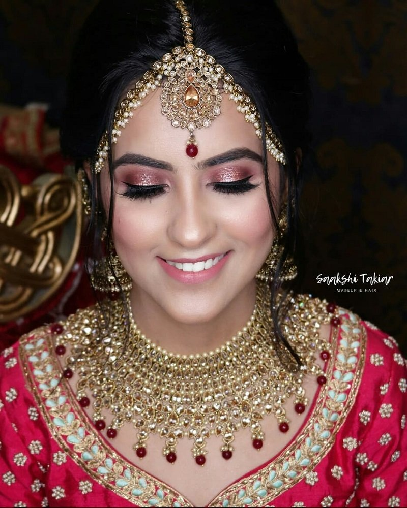 Rosy Eye Makeup