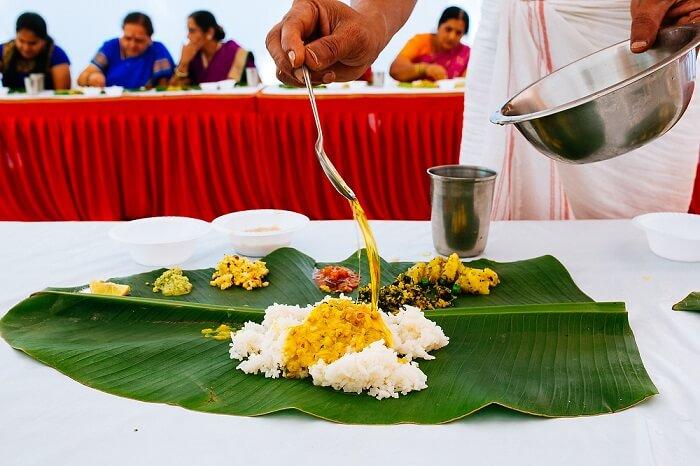 Malyali Wedding Food