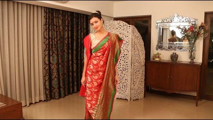 atpouri bengali drape