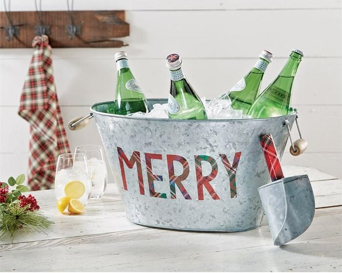 Beer holder as wedding gift