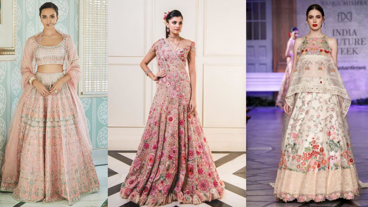 Top #3 Bridal Collections By The Sensational Anita Dongre, Rahul Mishra and Tarun Tahiliani!