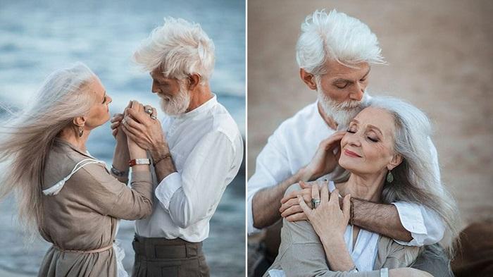 couple glamorous photoshoot