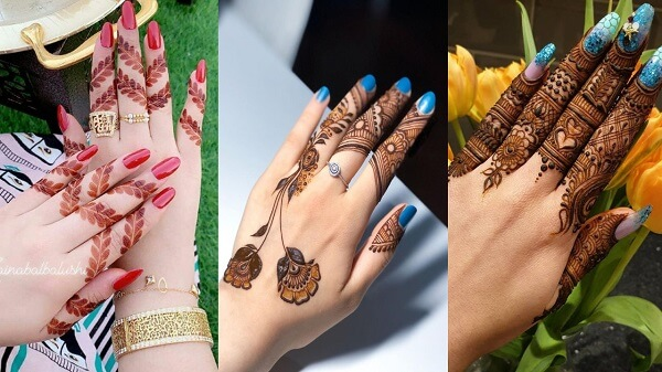 15 Finger Mehndi Designs for Brides Getting Married In ...