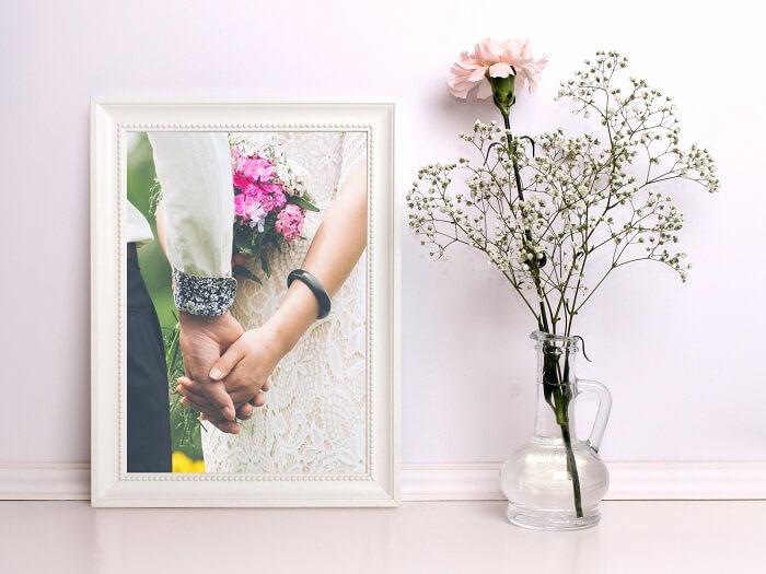 Wedding gifting ideas - frame