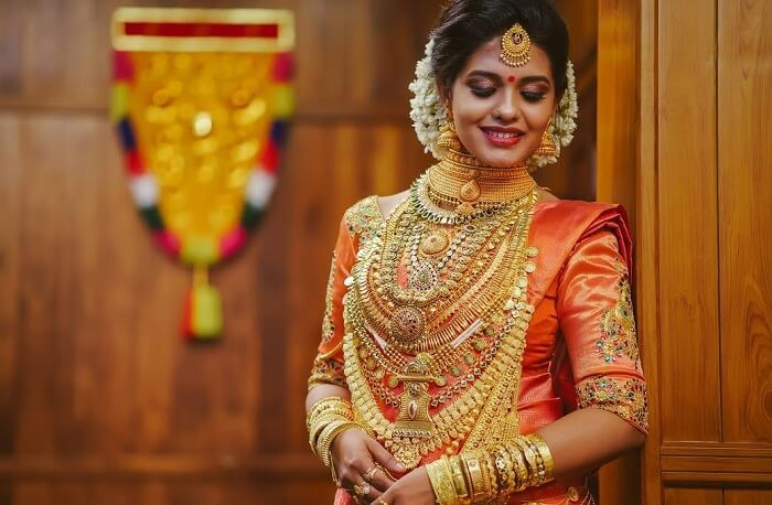 South Indian bridal jwellery