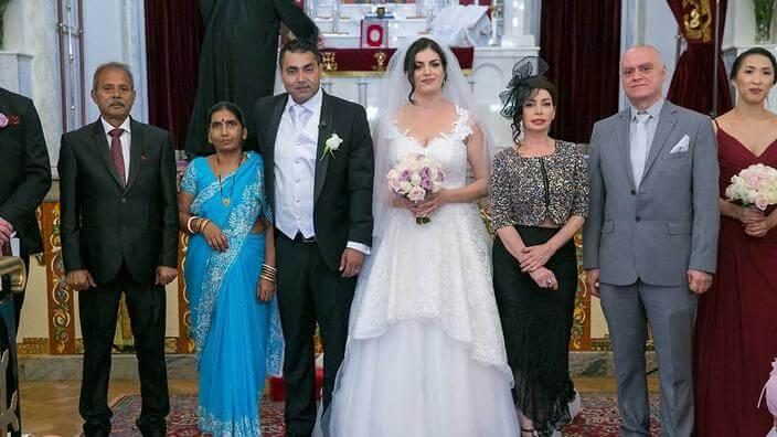 intercultural wedding