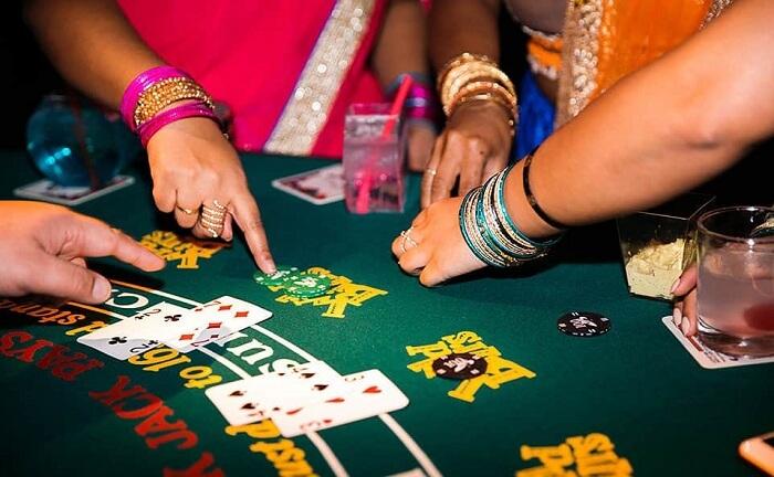 jua khilai Indian wedding traditional game