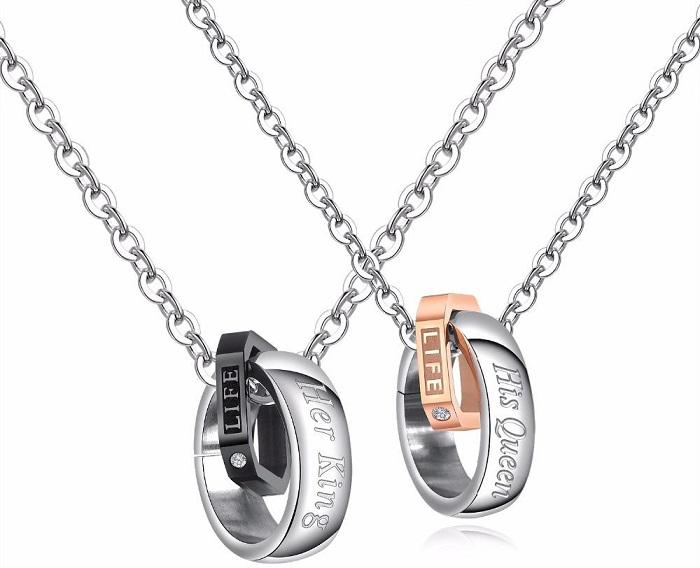 matching pendants