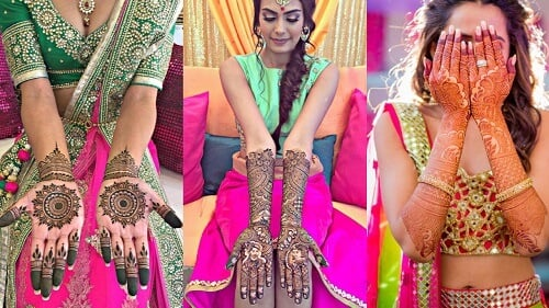 Best #91 Beautiful Front and Back Hand Mehndi Designs F...