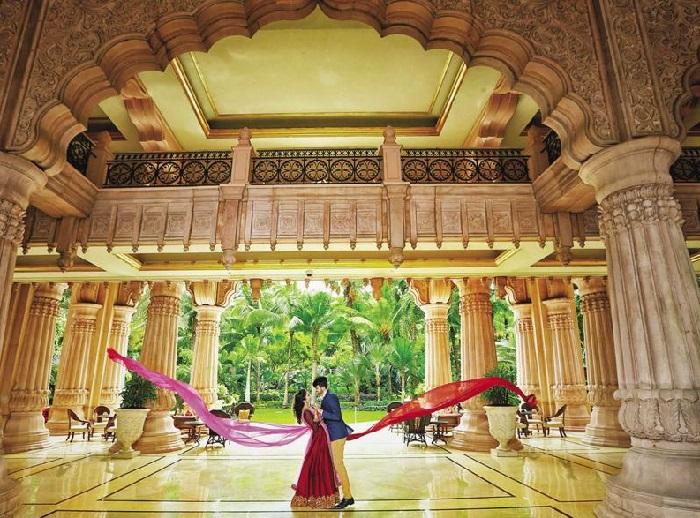 Bangalore Palace pre wedding photoshoot