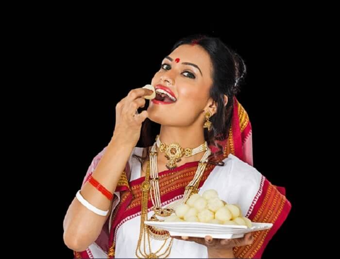 traditional rasgulla eating competition indian wedding games