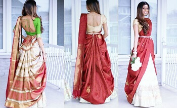 10 Unconventional Saree Draping Styles For The Chic Bridal Look