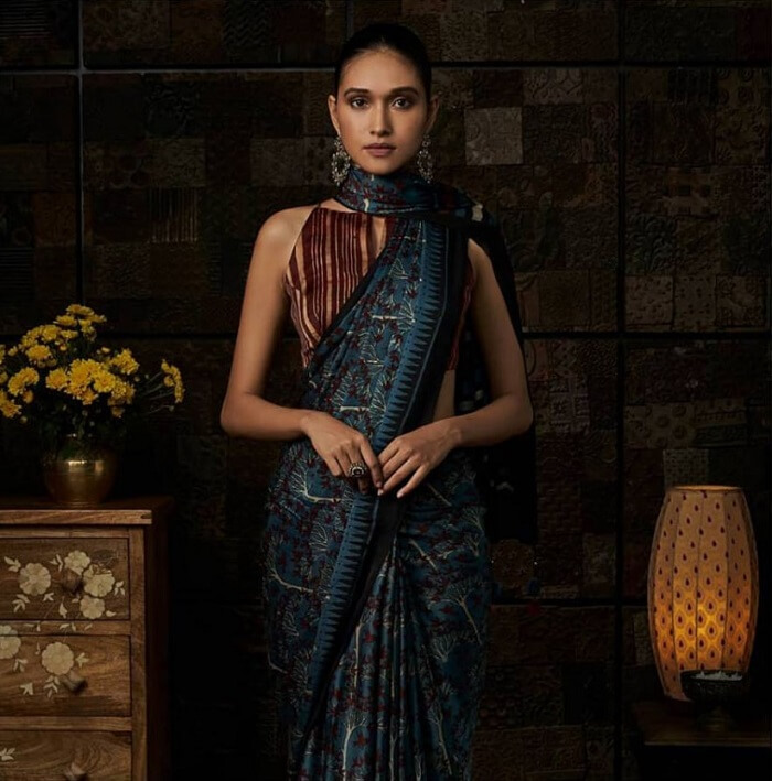 scarf style drape