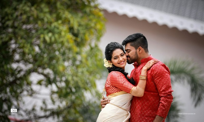Simple Malyali wedding