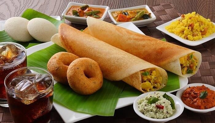 South Indian food menu for wedding