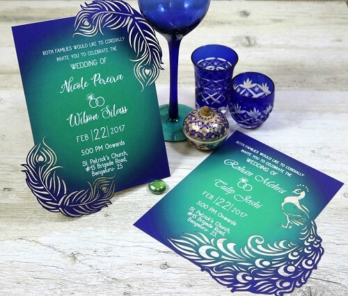 13 Splendid Cards Designs for Your Wedding: If You Like it, Make it and Give it to Your Guests