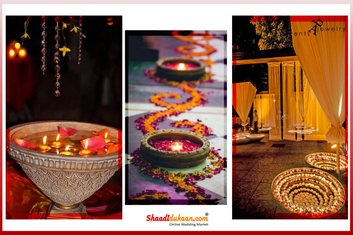 Magically Lit Diya Decorations For  The Special D-Day Decor!