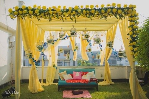 Chic And Stylish Mehndi Decor Ideas That Are Simple To Set Up