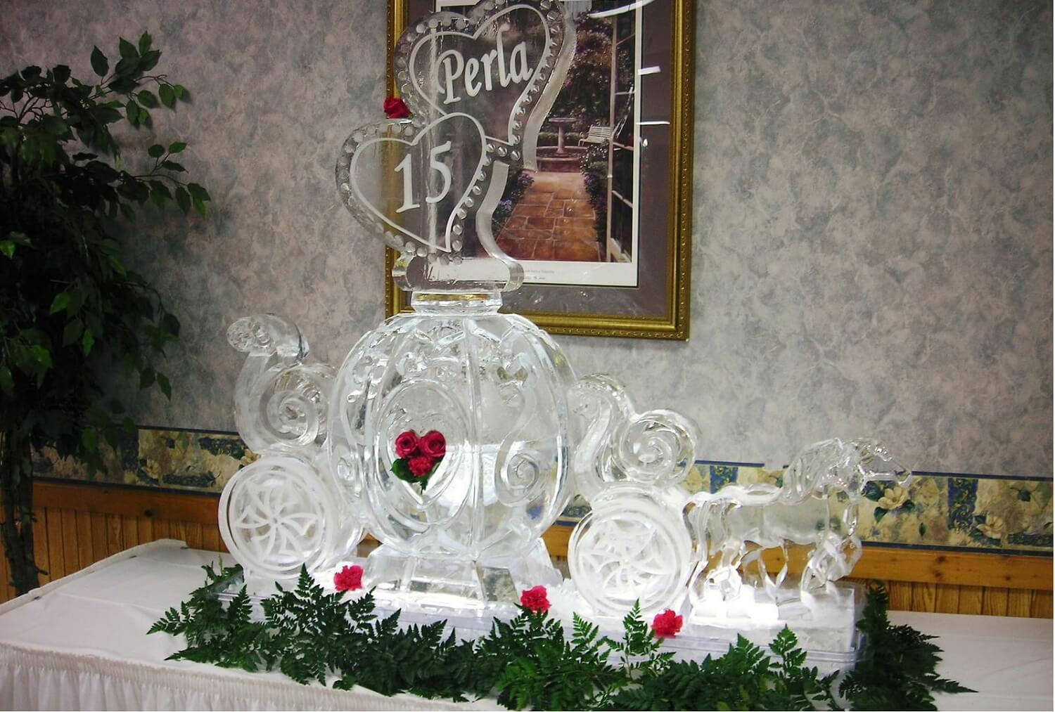 Let's Get 'FROZEN' This Winter – Include Ice Sculptures In Your Wedding Decor