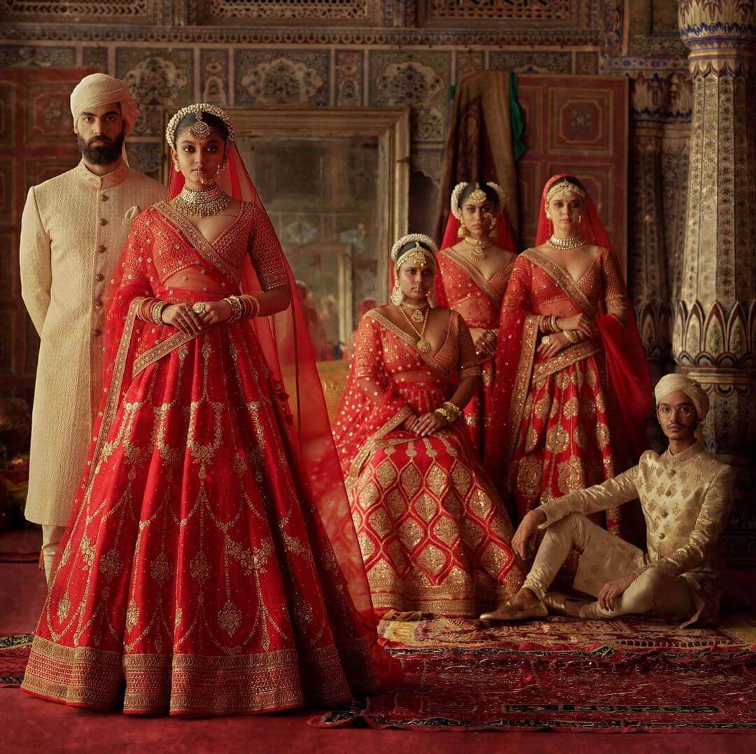 All About Sabyasachi's Beautiful New Winter Bridal Collection-Charbagh!
