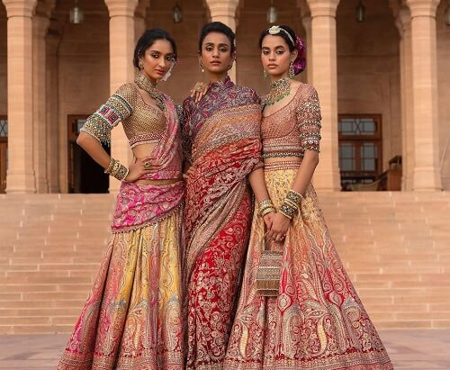 #Bloom: New Sensational Bridal Couture By The Famous Tarun Tahiliani