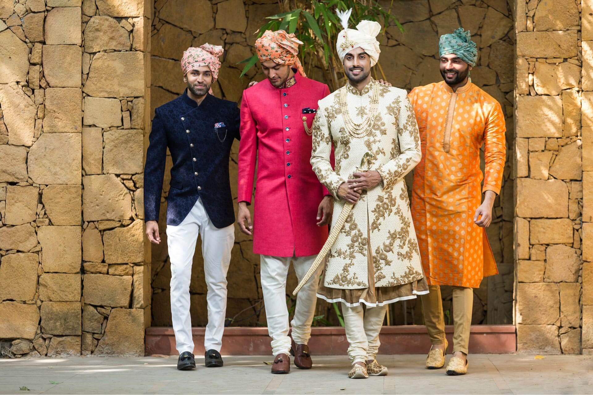 Top #141 Sensational Indian Wedding Dresses For Men!