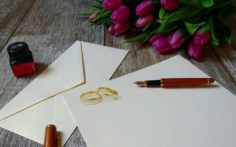 51+ Wedding Wishes: What & How to Write A Creative Wedding Card